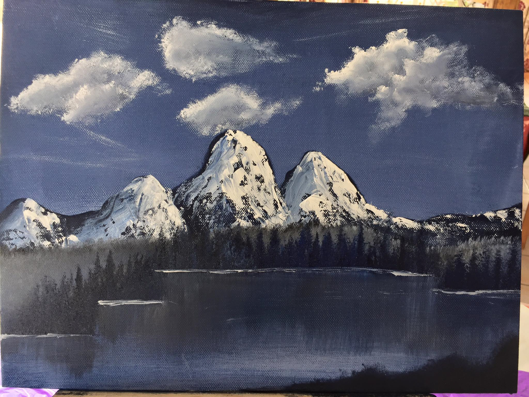 Week 2 – Mountains in oil