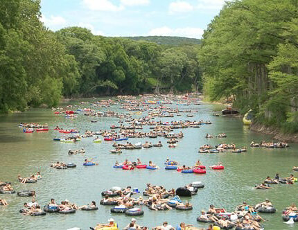 To tube or not to tube with the texan